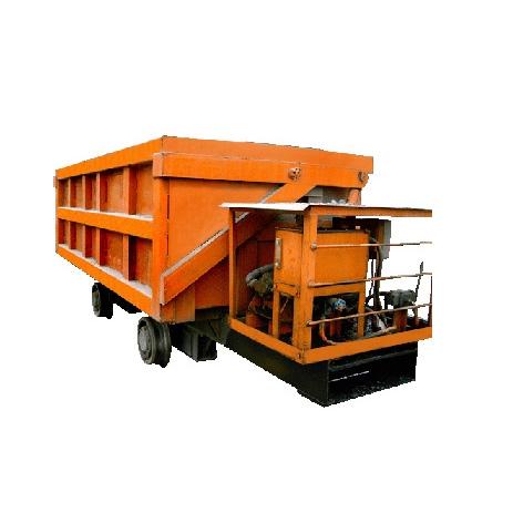 液压侧卸式矿车