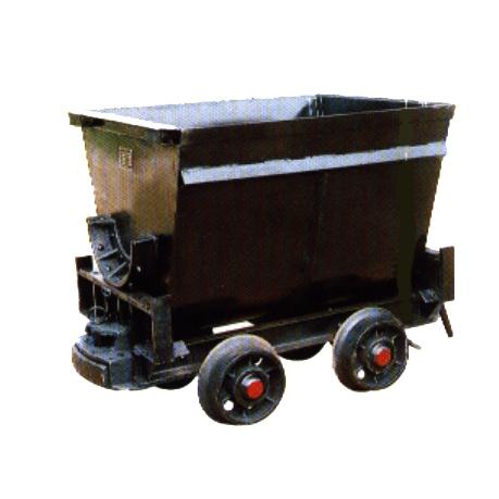 脚踏侧卸式矿车